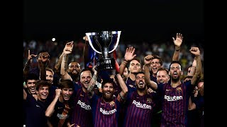 This is How Lionel Messi Won His 10th League ● Best Moments - 18/19
