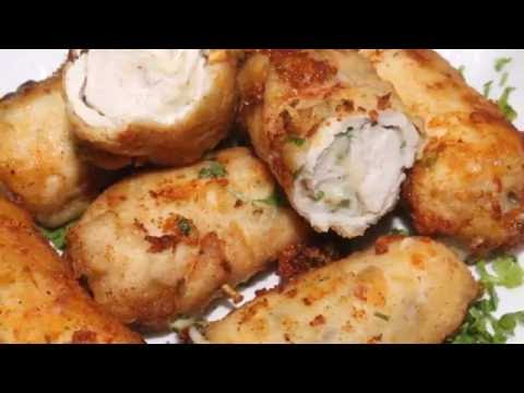 Deliocus Chicken Cheese Roll Recipe - Chicken Bites By Food In 5 Minutes