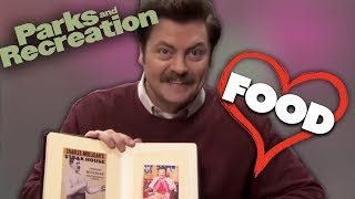 Ron Swansons Love Of Food | Parks and Recreation | Comedy Bites
