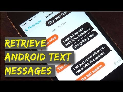 How to Retrieve Deleted Text Messages on Android?