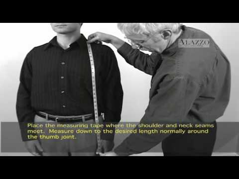 Alazzo Clothing - How To Measure Jacket Length