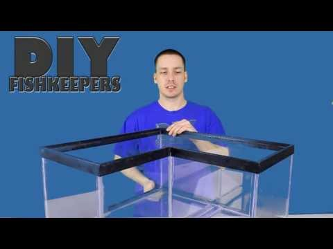 HOW TO: Build a Corner Aquarium 2/2