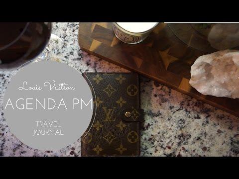 Louis Vuitton Agenda PM: Travel Journal