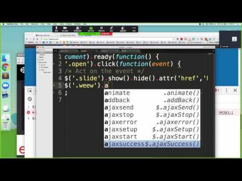 jQuery鏈式寫法