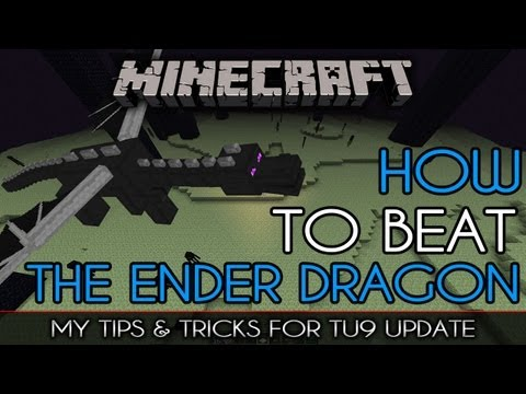How To Beat The ENDER DRAGON | Tips, Tricks, & Strategy Guide for TU9 | MineCraft