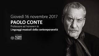 """""""Linguaggi musicali della contemporaneità"""" a Paolo Conte - Aula Magna 16/11/2017"""