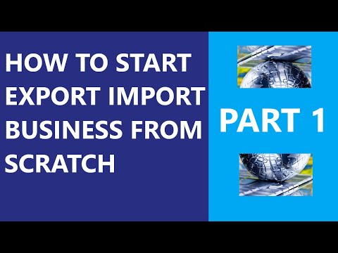 How to Start Export Import Business In Canada From Scratch. Part 1