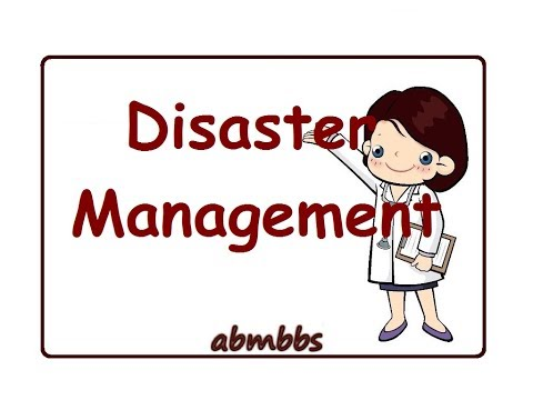 Disaster Management PSM Video