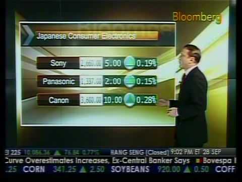 Japanese Financial Stocks Surge