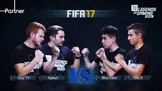 Xpiner&GuyTV vs TreyX&Elior Blux | פרק 21 | fifa 17