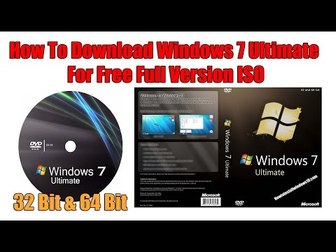 How To Download Windows 7 Ultimate For Free Full Version ISO 2017 (WORKING 100%)