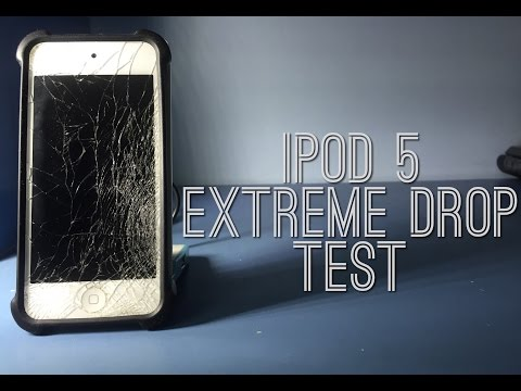iPod 5 Drop Test(Extreme)
