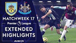 Burnley V Newcastle United PREMIER LEAGUE HIGHLIGHTS 121419 NBC Sports