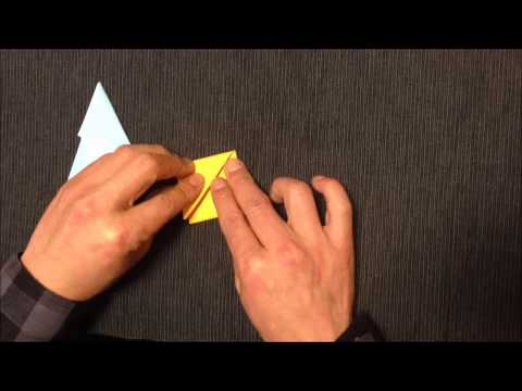 15.How to fold Japanese traditional origami throwing knives | Origami Box
