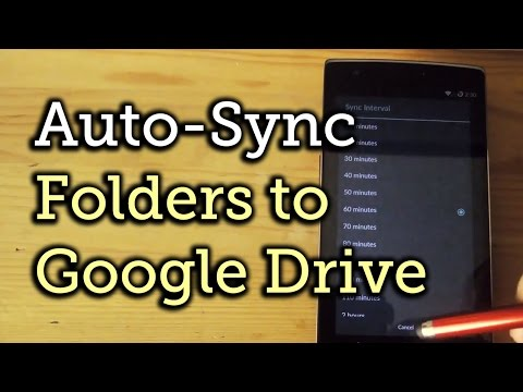 Automatically Back Up Your Android's Data with GDriveSync [How-To]