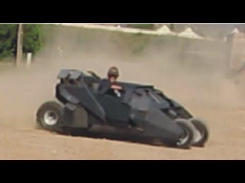 Batmobile Tumbler Go Kart #2