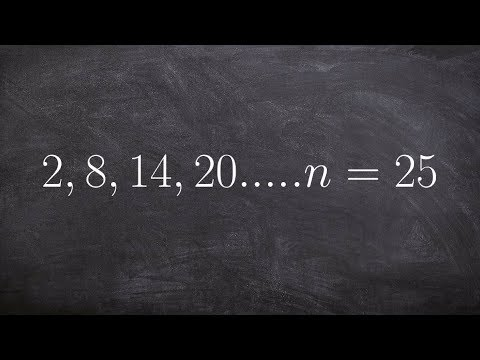 Find the partial sum of a sequence of 25 terms