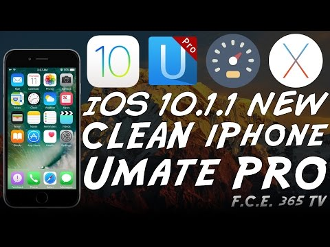 iOS 10 - How to clean your iPhone / Remove Data Using iMyfone Umate Pro