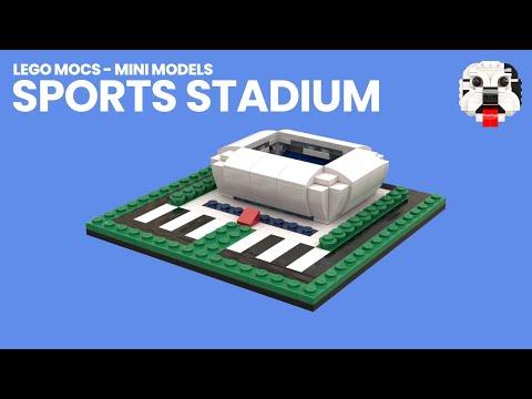 LEGO MOCs - Mini LEGO Sports Stadium