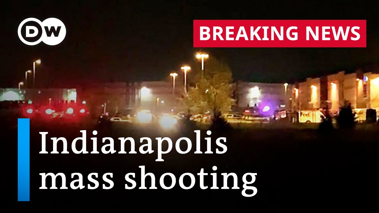 8 killed in mass shooting at Indianapolis FedEx warehouse   DW News