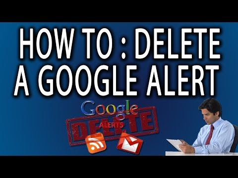 How to Delete A Google Alert