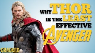 Why Thor Is The Least Effective Avenger