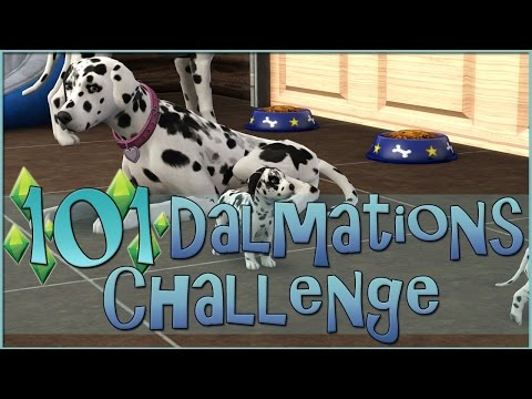Newborn Dalmatian Puppies in the Barn!! || Sims 3: 101 Dalmatians Challenge  - Episode #40
