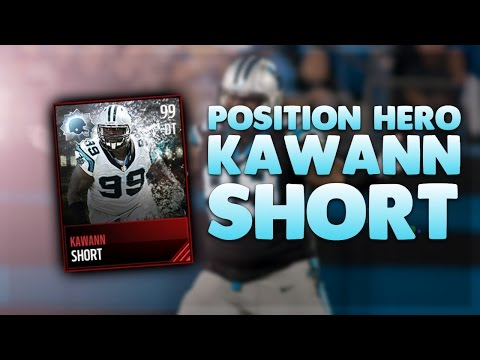 GOT 98 KAWANN SHORT POSITION HERO CARD! BEST DT IN MADDEN MOBILE? | Madden Mobile