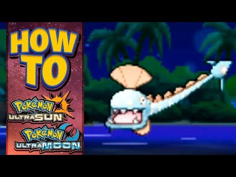 HOW TO GET Huntail in Pokemon Ultra Sun and Moon