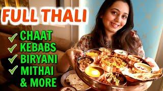 North Indian THALI in Mumbai   Indian Street Food, Biryani with Organic Ingredients