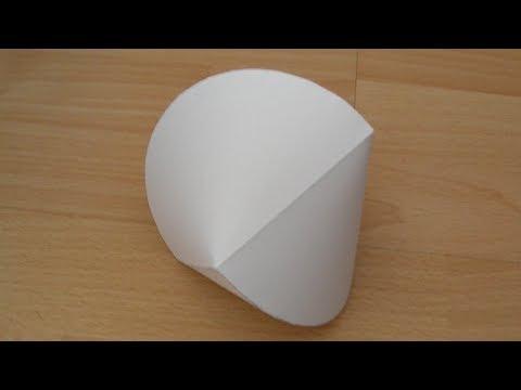 Paper Sphericon Tutorial