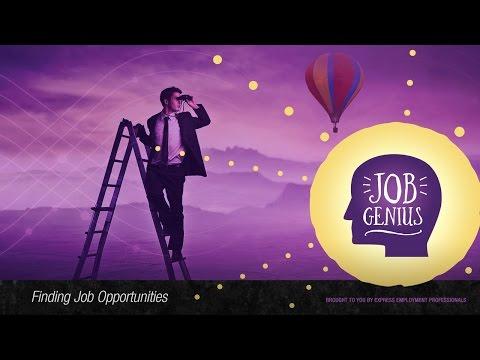 Best Places to Find Job Openings – Finding Job Opportunities, Job Genius
