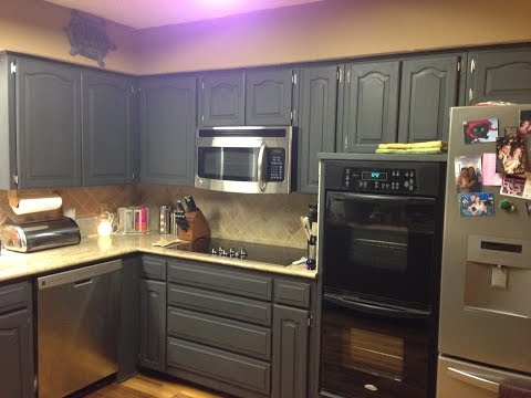 Marvelous Painting Kitchen Cabinets With Chalk Paint
