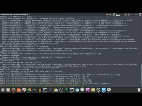 How to install Wine on Ubuntu 16.04