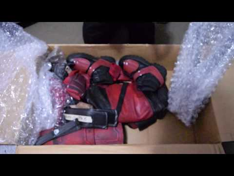 Unboxing DEADPOOL SUIT (MAXIMUN  EFFORT )with Props Professional Cosplay
