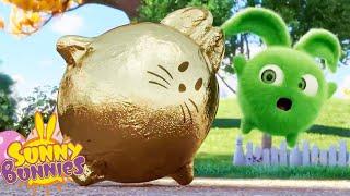 SUNNY BUNNIES - New Golden Friend   Season 5   Cartoons for Children