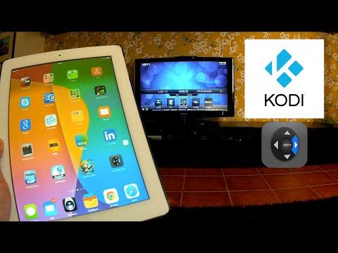 iPad iPod iPhone Remote Control for Kodi XBMC