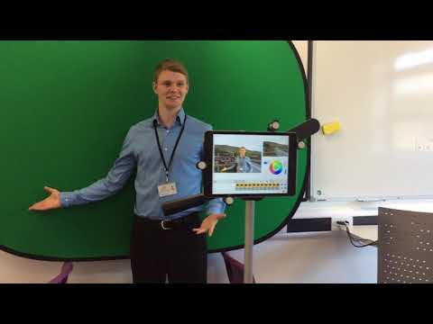 How to use Green Screen iPad app by Do Ink