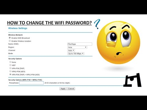 How To Change The Wifi Password/Name | Network | 2016