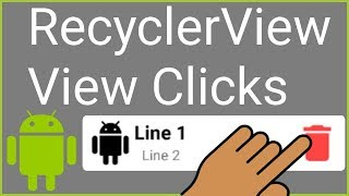 RecyclerView + CardView - Part 4 - ON-ITEM-CLICK INTERFACE