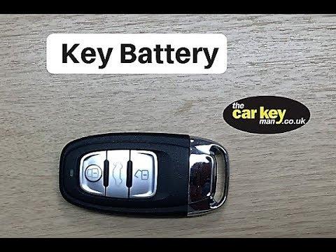 Key Battery Audi Dash Key HOW TO change