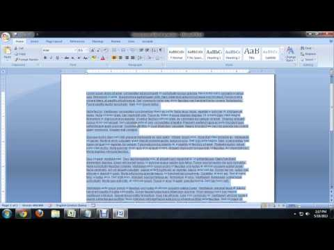 How to Delete the Trailing Spaces in Microsoft Word : Tech Niche