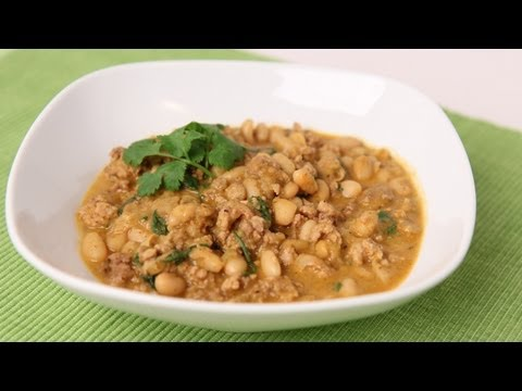 White Chicken Chili Recipe - Laura Vitale - Laura in the Kitchen Episode 471