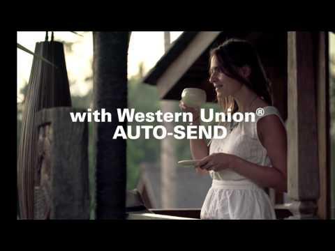 Western Union AUTO-SEND, sending money automatically around the world