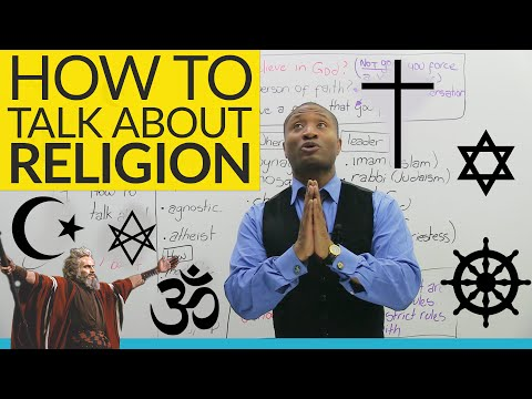 How to have a conversation about RELIGION in English