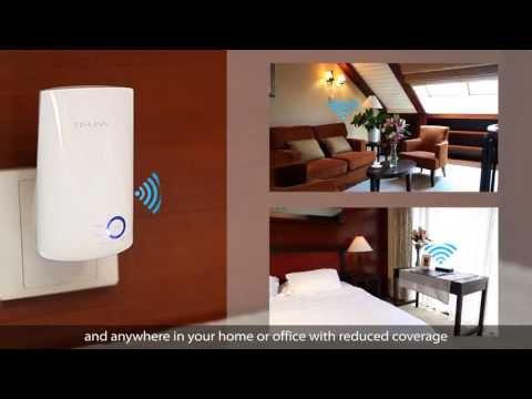 TP-Link 300Mbps Universal WiFi Range Extender TL-WA850RE