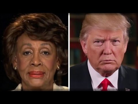 BREAKING: MAXINE WATERS CAVES ON TRUMP, FINALLY ADMITS IT...