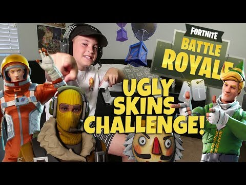 FORTNITE: UGLY SKINS CHALLENGE!