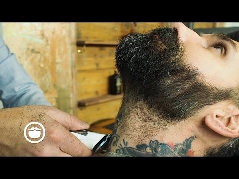 Medium To Short Length Beard Trim | Carlos Costa