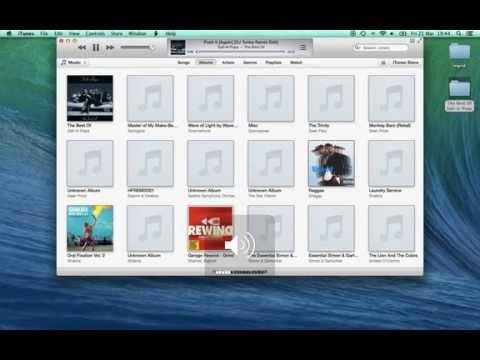 Embedding Album Artwork in iTunes